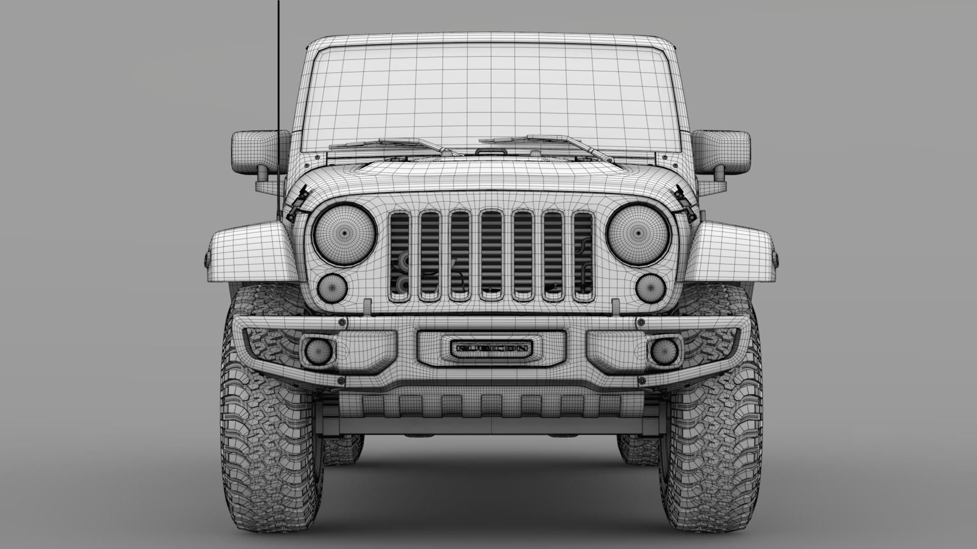 jeep wrangler unlimited rubicon recon jk 2017 3d model max fbx c4d lwo ma mb hrc xsi obj 277010