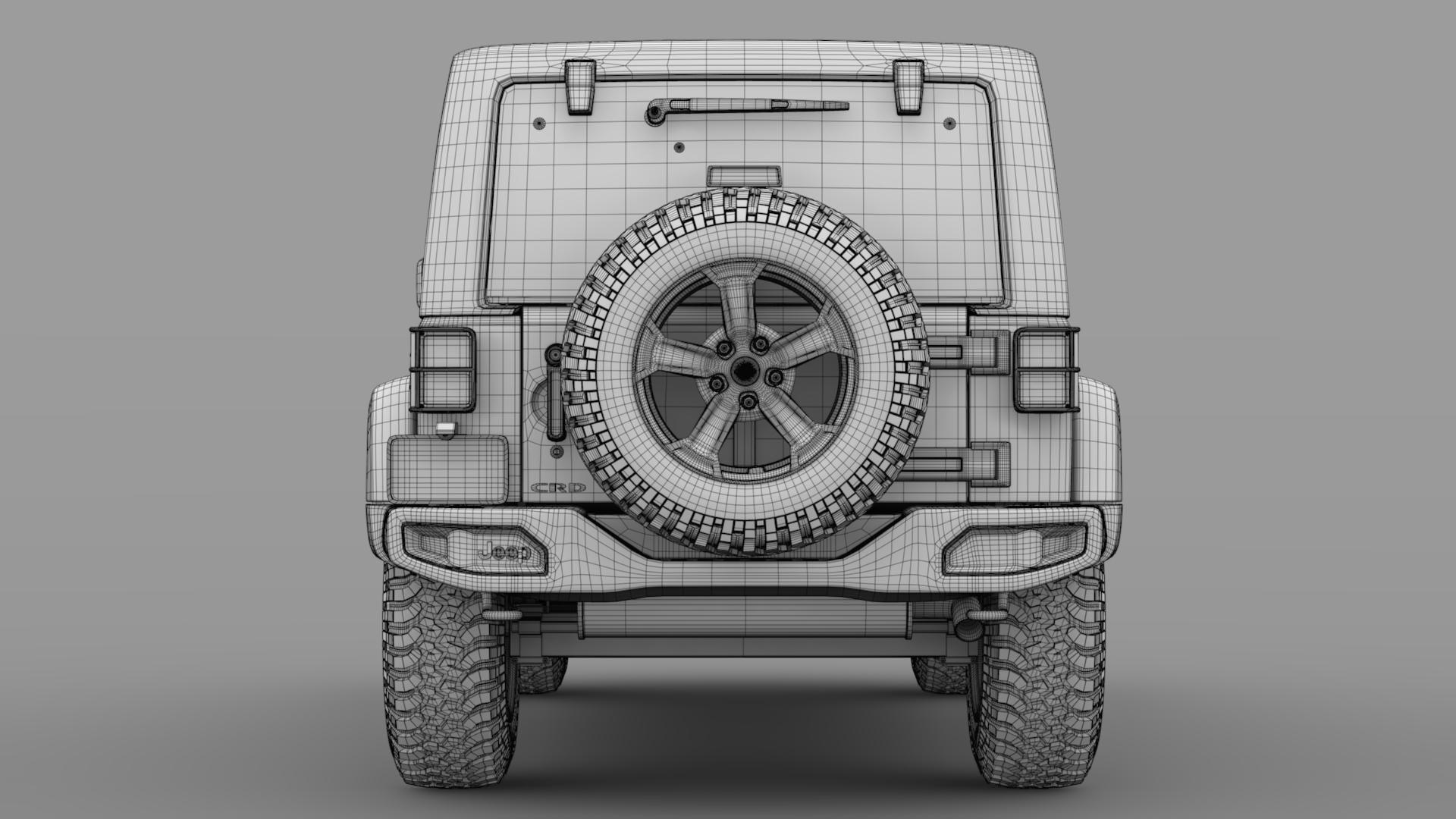 jeep wrangler unlimited rubicon recon jk 2017 3d model max fbx c4d lwo ma mb hrc xsi obj 277012