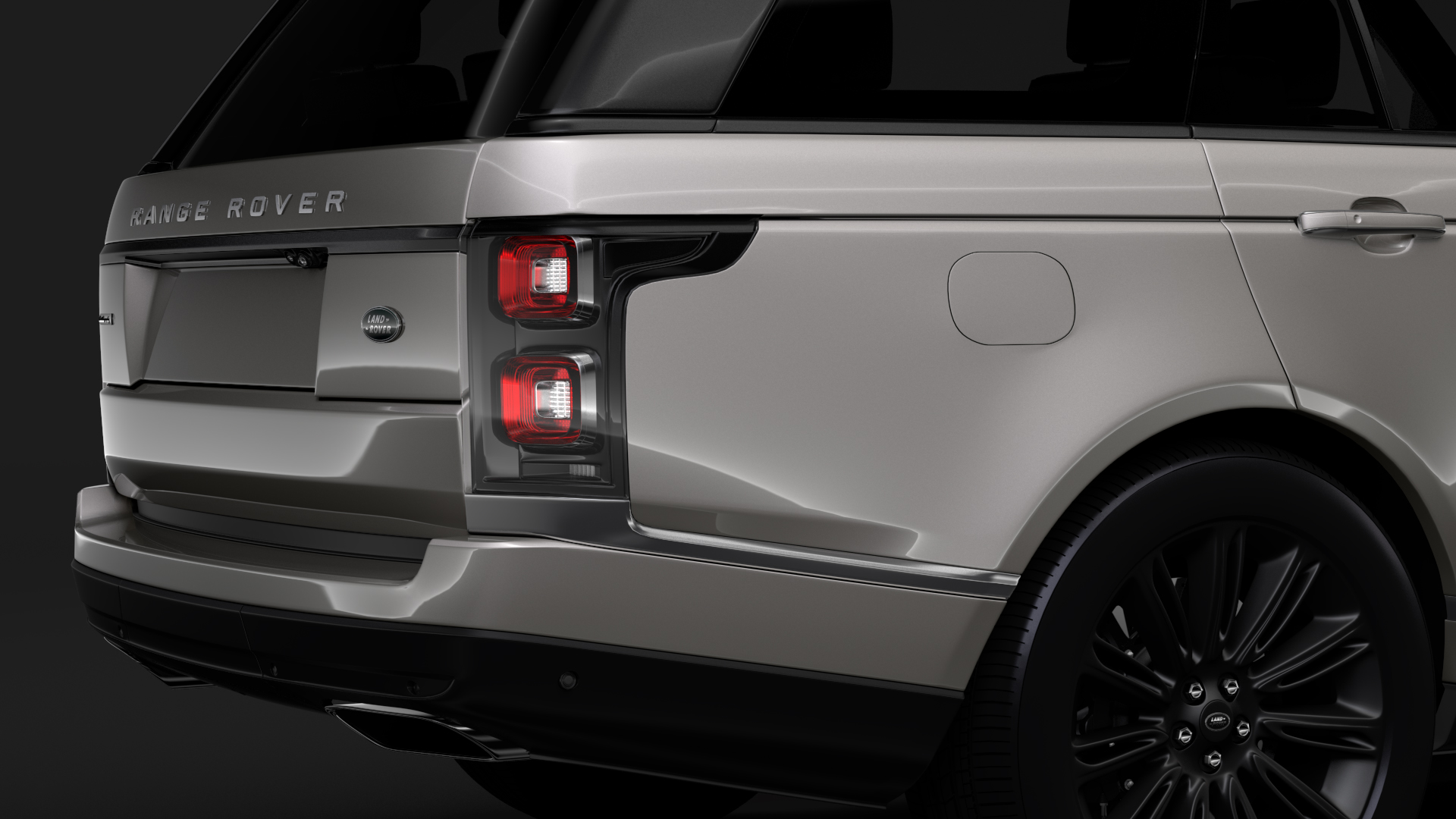 range rover autobiography hybrid lwb l405 2018 3d model max fbx c4d lwo ma mb hrc xsi obj 277299