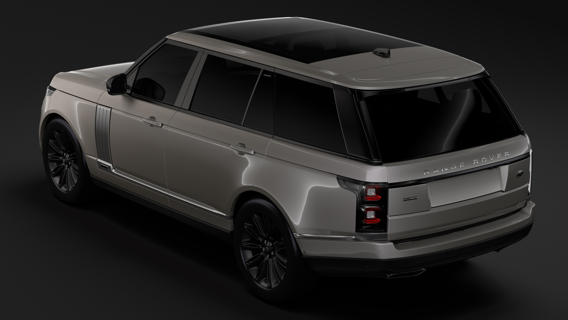 range rover autobiography hybrid lwb l405 2018 3d model flatpyramid. Black Bedroom Furniture Sets. Home Design Ideas