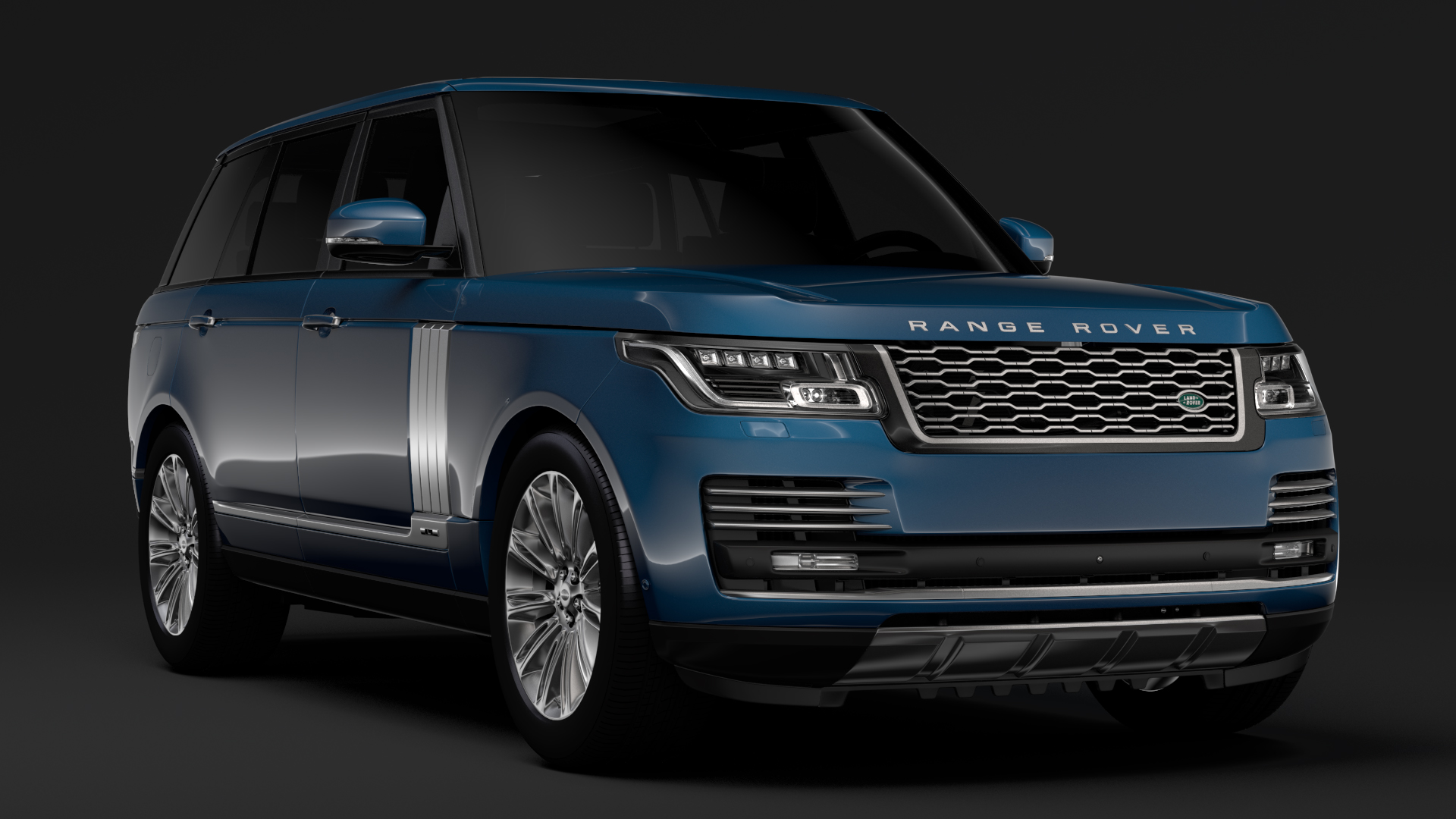 range rover autobiography lwb l405 2018 3d model max fbx c4d lwo ma mb hrc xsi obj 277324