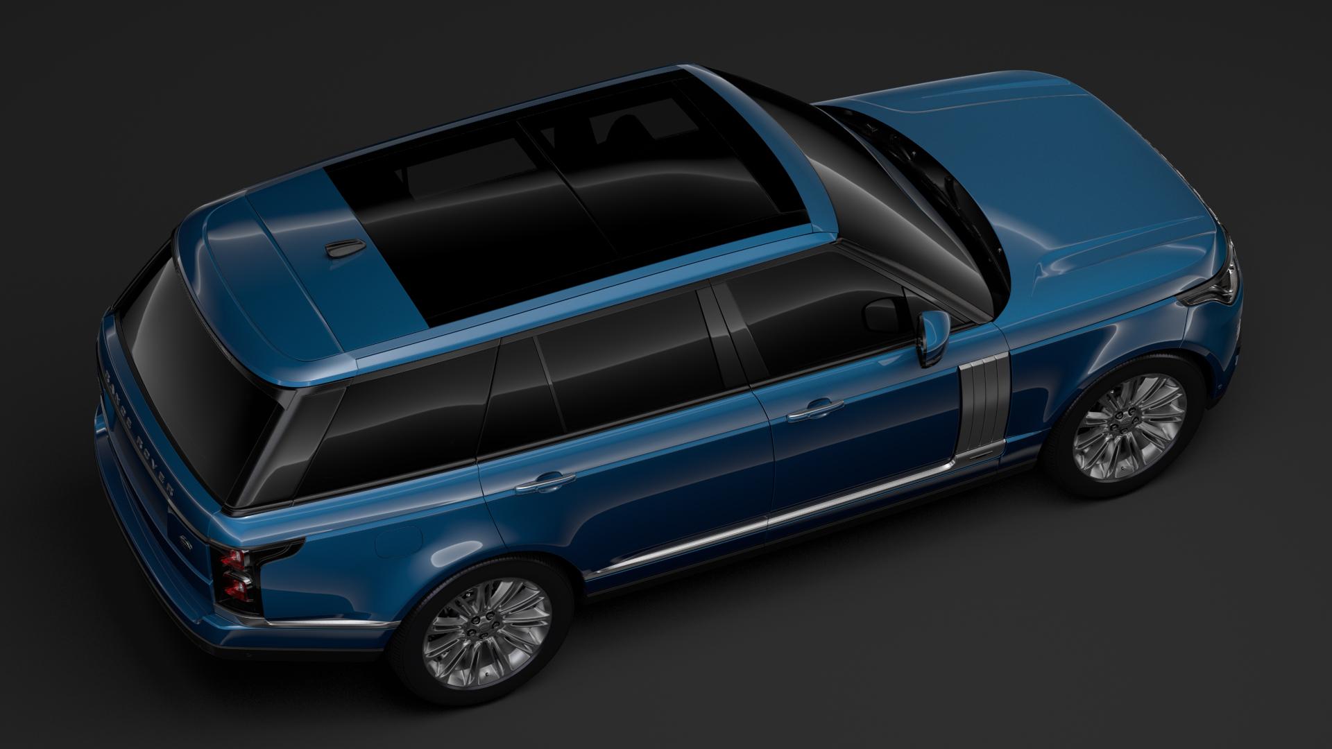 range rover autobiography lwb l405 2018 3d model max fbx c4d lwo ma mb hrc xsi obj 277334