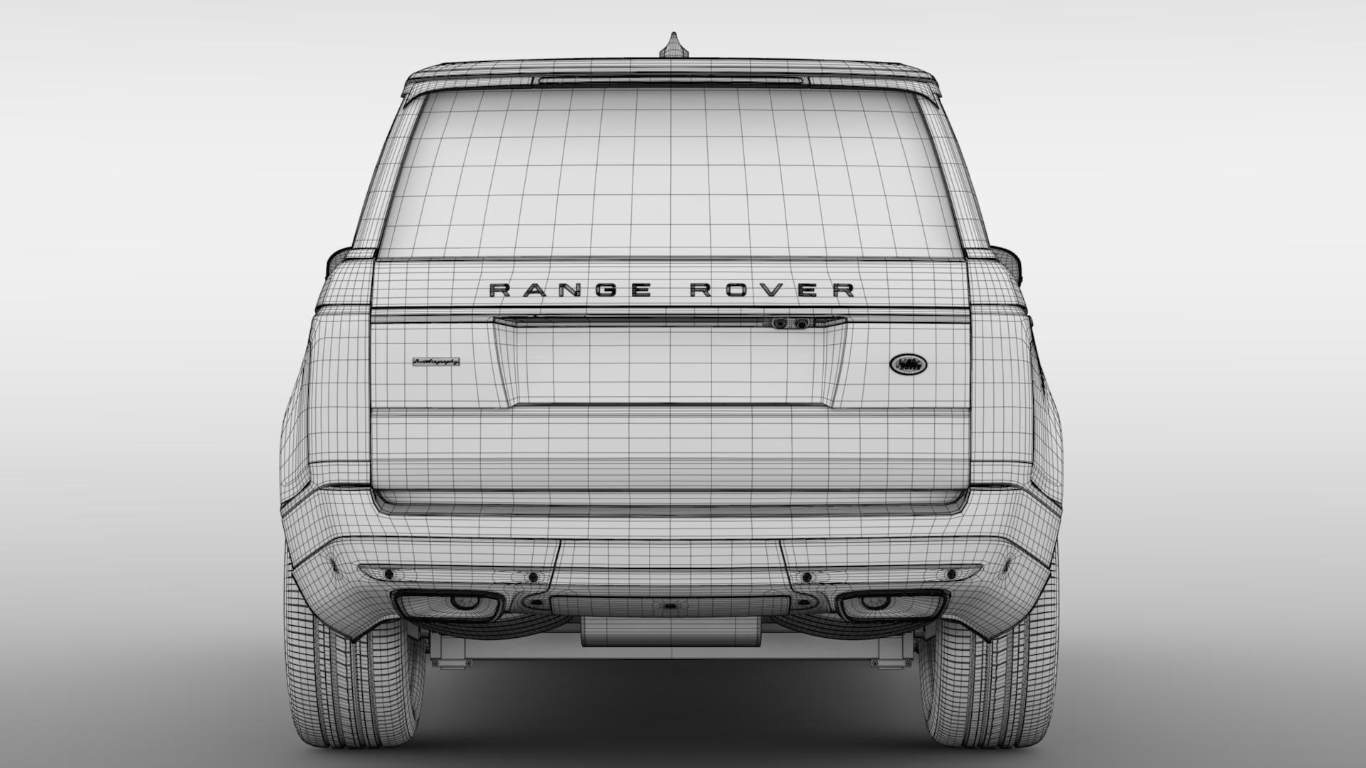 range rover autobiography lwb l405 2018 3d model max fbx c4d lwo ma mb hrc xsi obj 277337