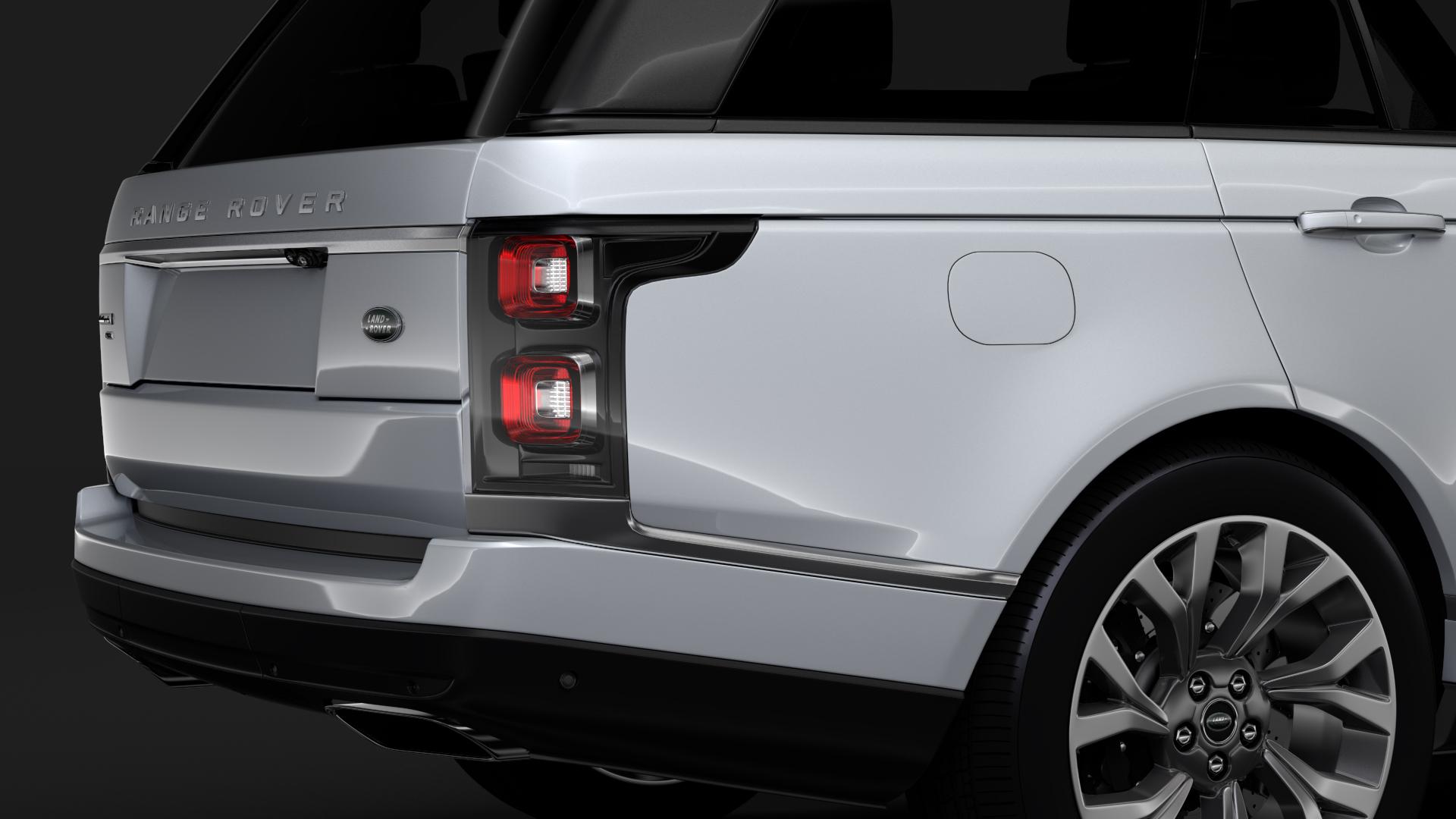 range rover autobiography p400e lwb l405 2018 3d model fbx c4d lwo ma mb hrc xsi obj 277359