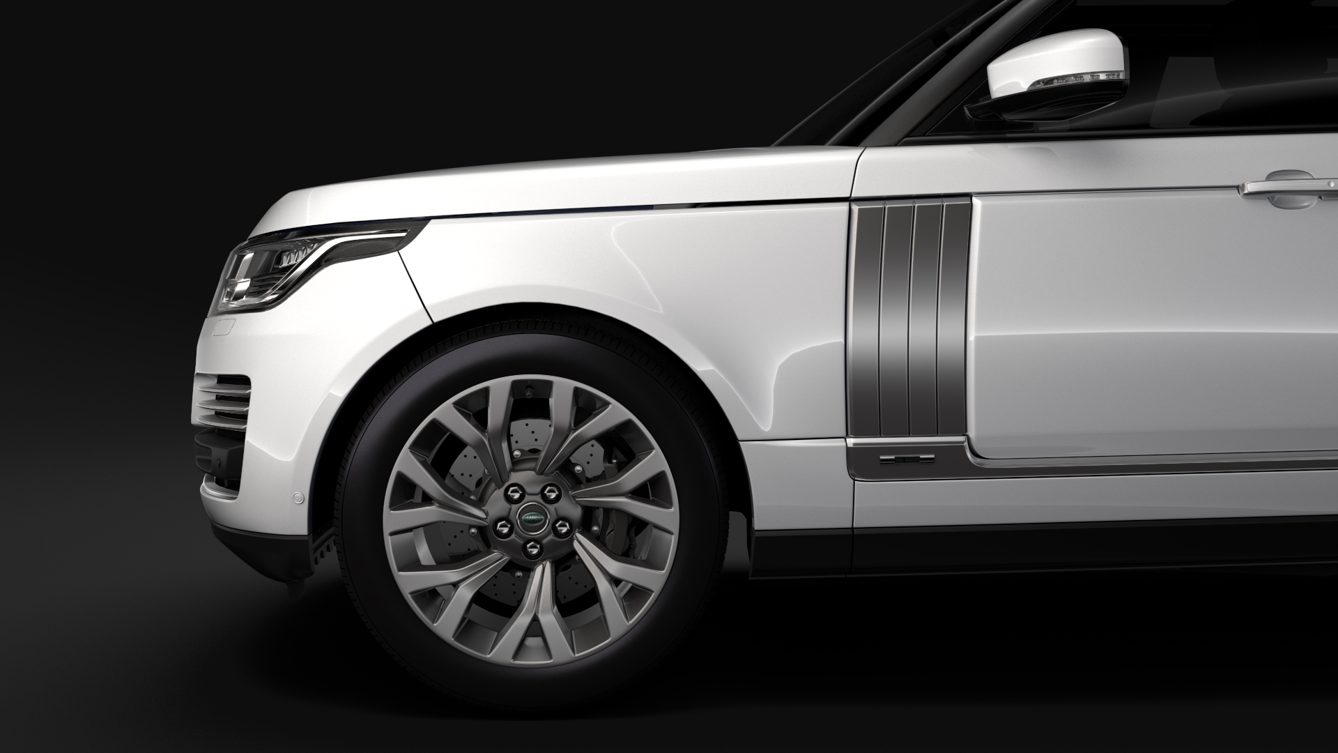 range rover autobiography p400e lwb l405 2018 3d model fbx c4d lwo ma mb hrc xsi obj 277362