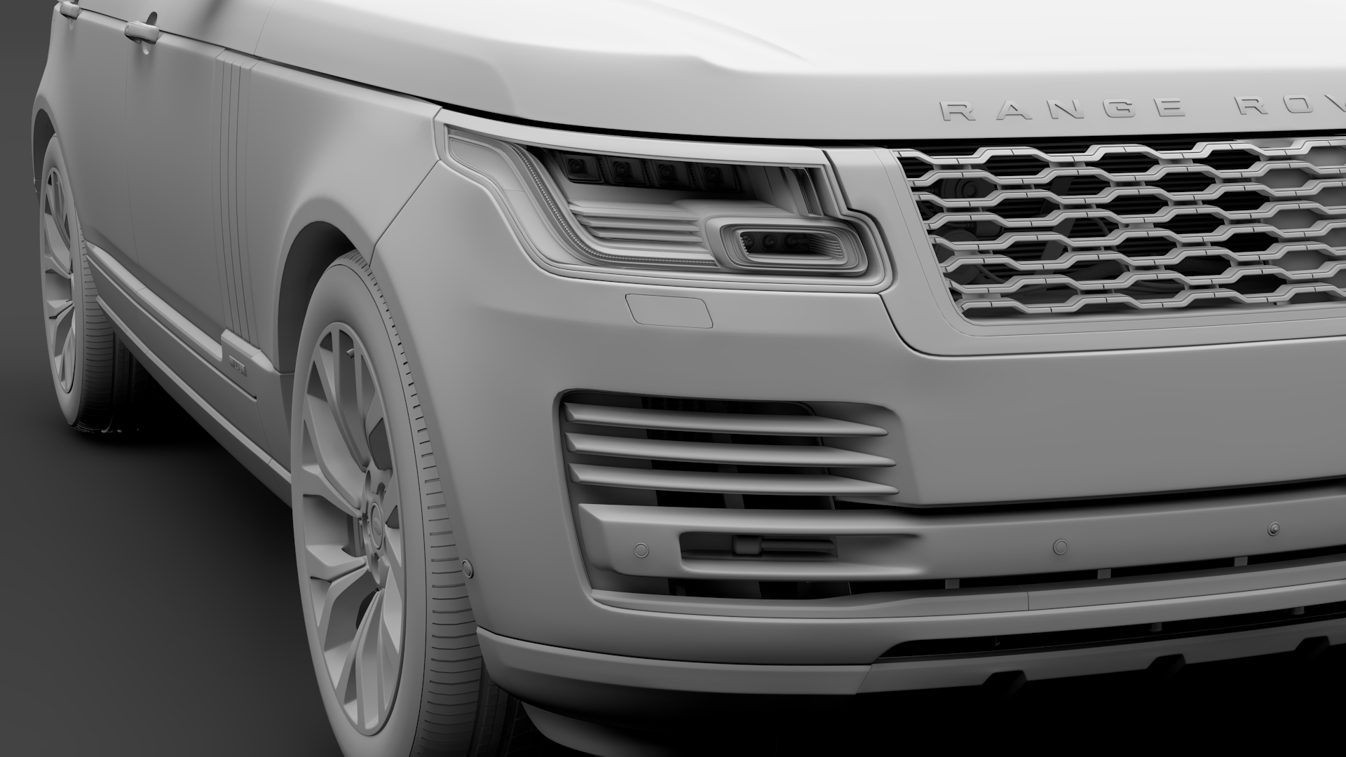 range rover autobiography p400e lwb l405 2018 3d model fbx c4d lwo ma mb hrc xsi obj 277366