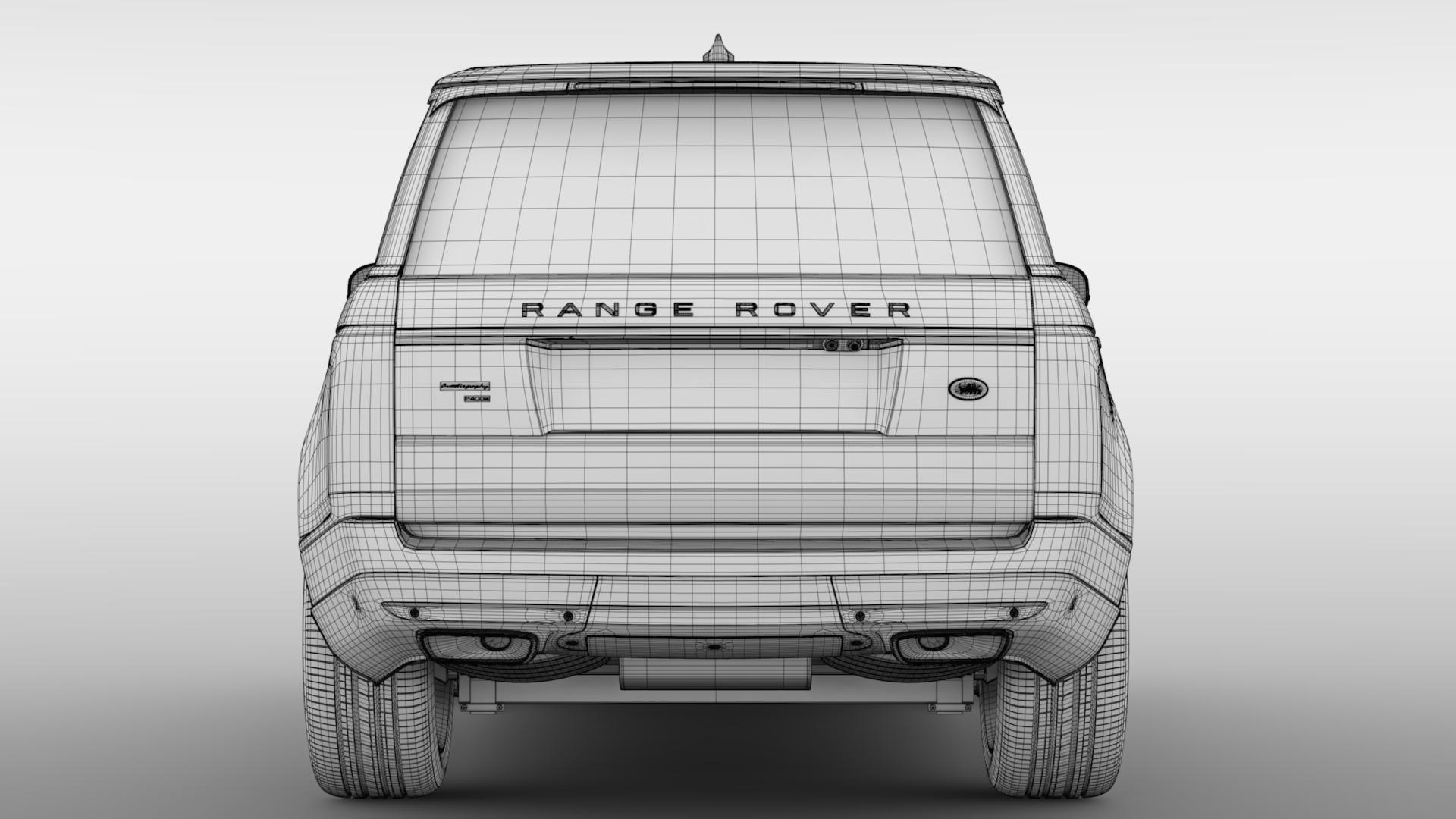 range rover autobiography p400e lwb l405 2018 3d model fbx c4d lwo ma mb hrc xsi obj 277367