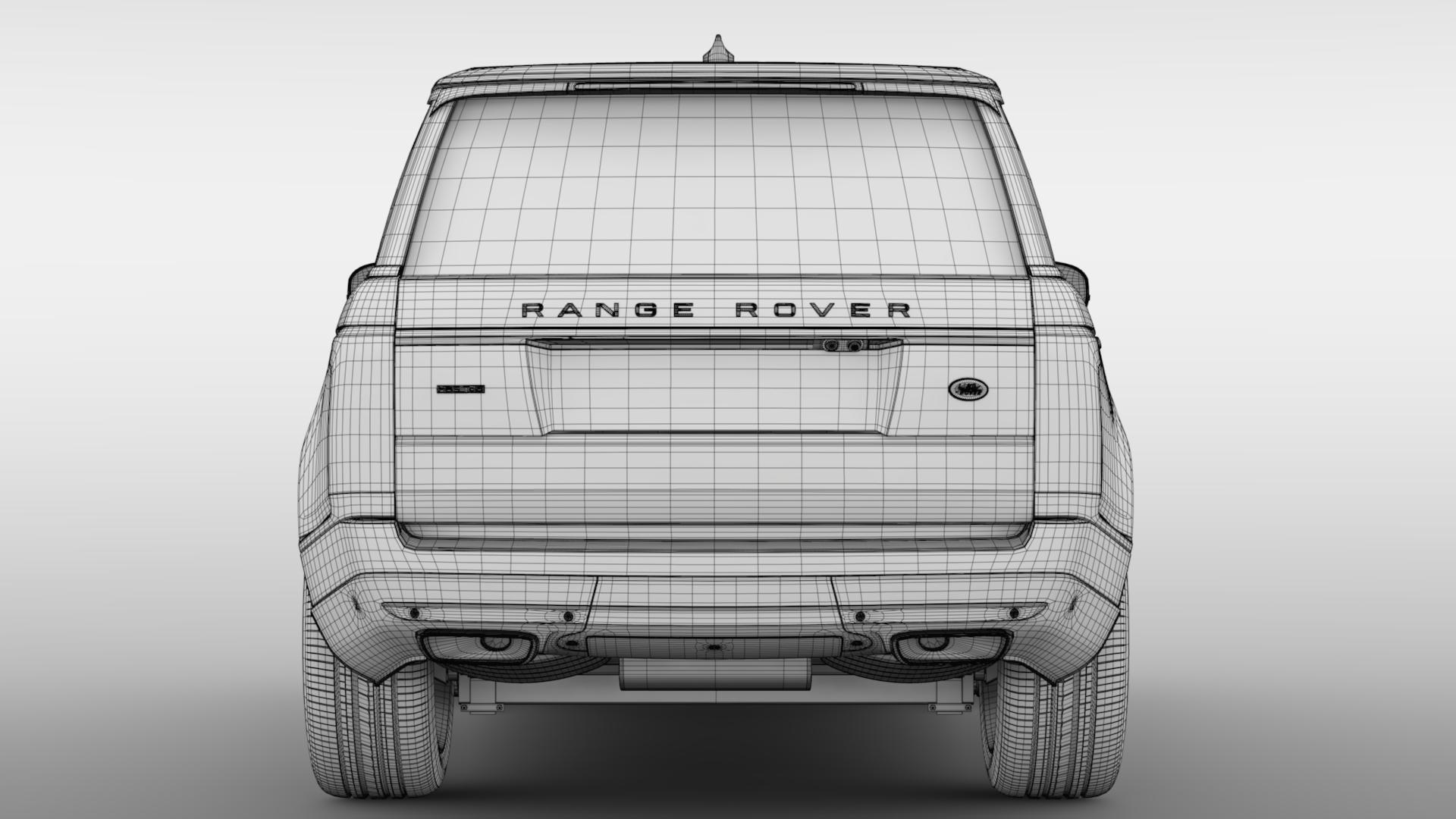 range rover hse td6 lwb l405 2018 3d model max fbx c4d lwo ma mb hrc xsi obj 277401