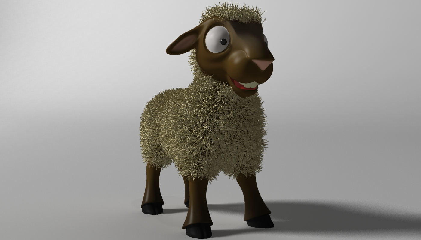 cartoon sheep rigged 3d model 3ds max fbx  obj 277461