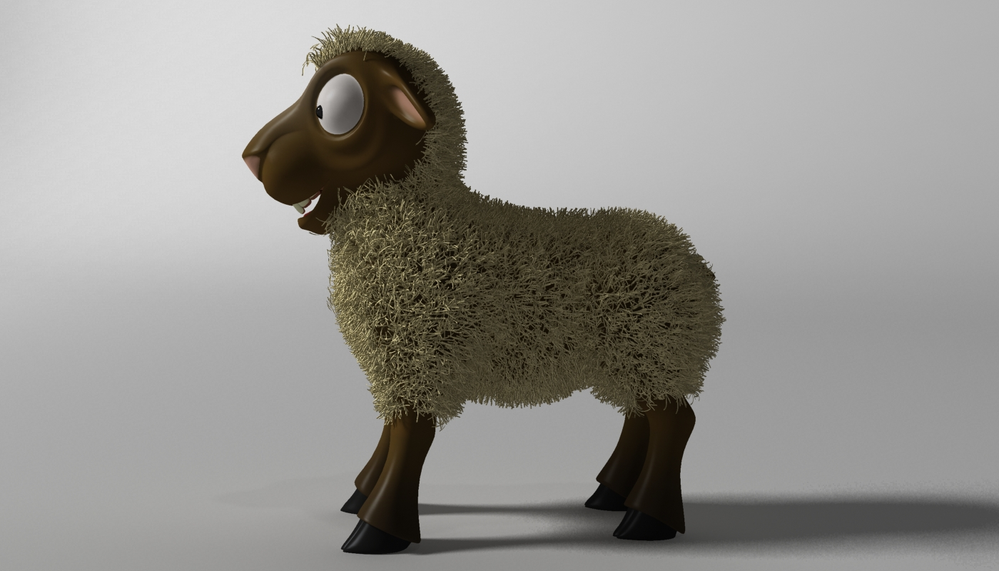 cartoon sheep rigged 3d model 3ds max fbx  obj 277463