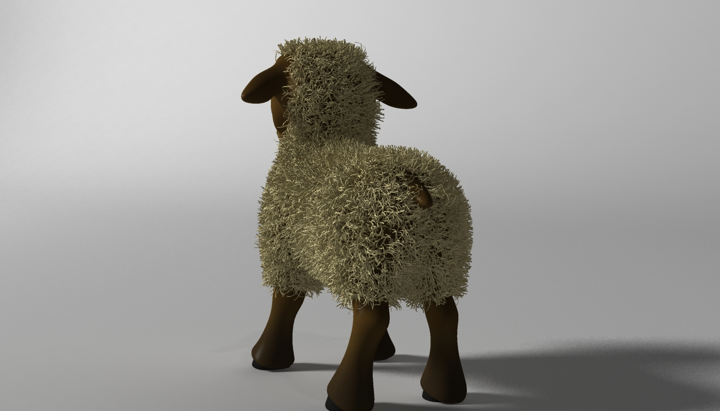 cartoon sheep rigged 3d model 3ds max fbx  obj 277464