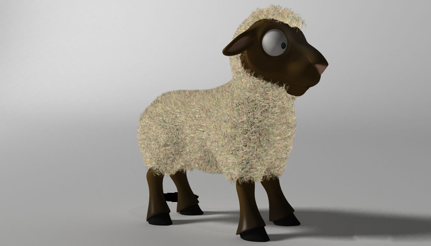 cartoon sheep rigged 3d model 3ds max fbx  obj 277466