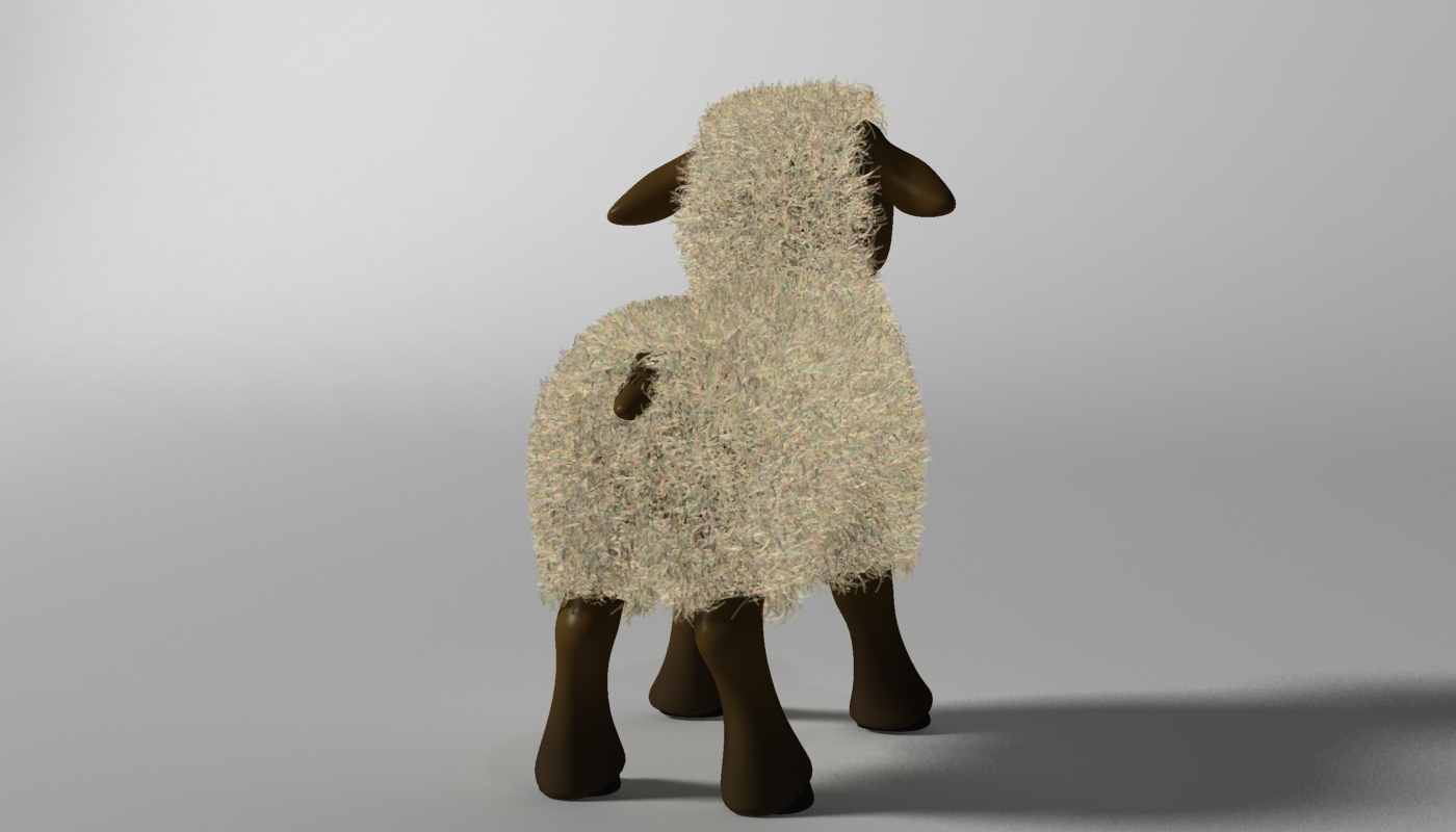 cartoon sheep rigged 3d model 3ds max fbx  obj 277467