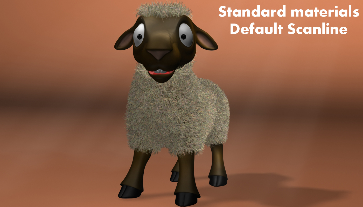 cartoon sheep rigged 3d model 3ds max fbx  obj 277474