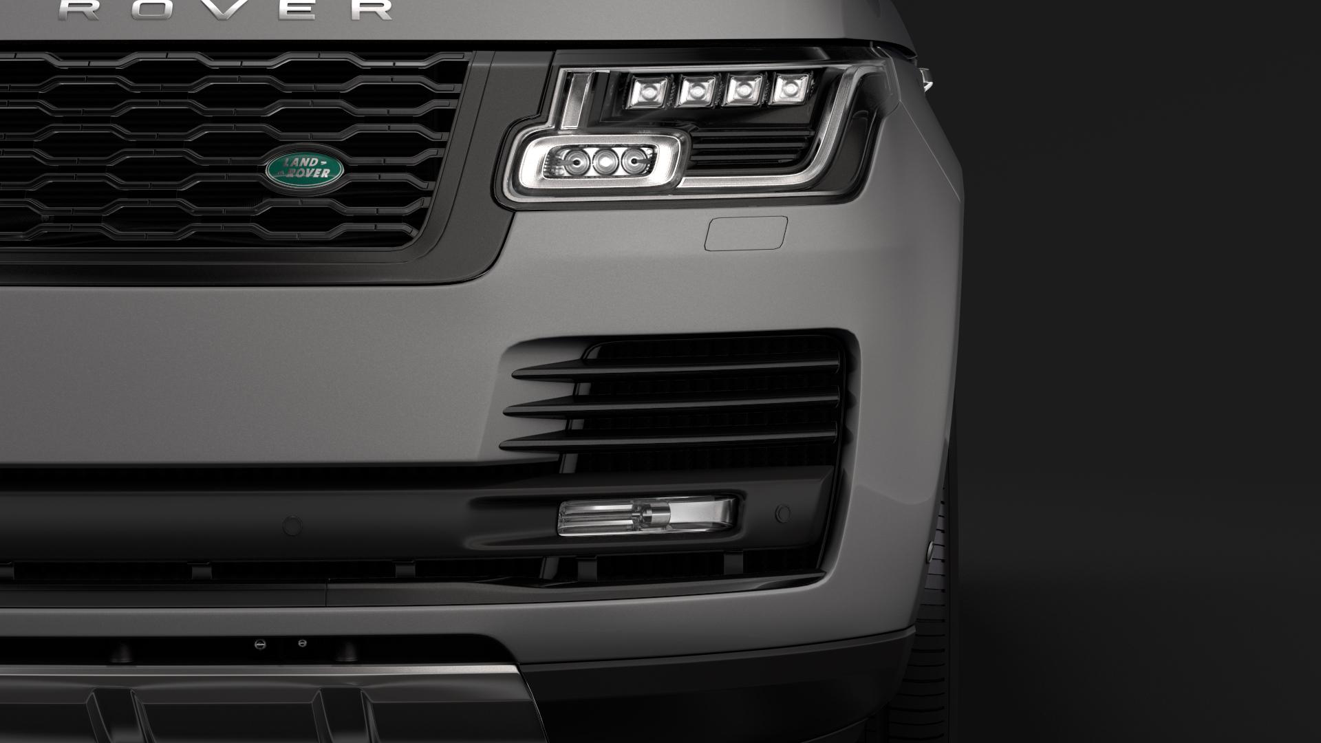 range rover vogue lwb l405 2018 3d model max fbx c4d lwo ma mb hrc xsi obj 277522