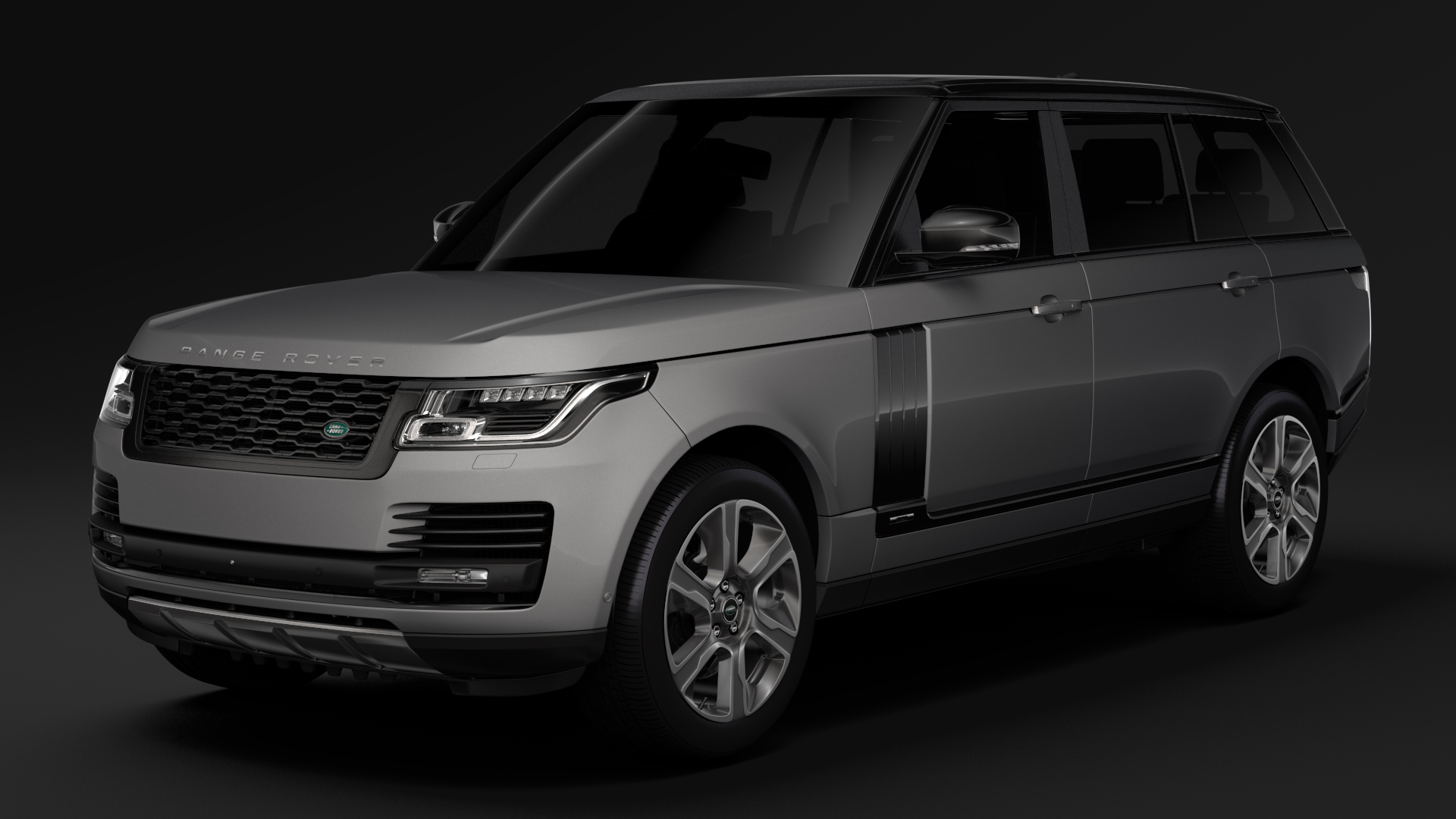 range rover vogue lwb l405 2018 3d model max fbx c4d lwo ma mb hrc xsi obj 277523
