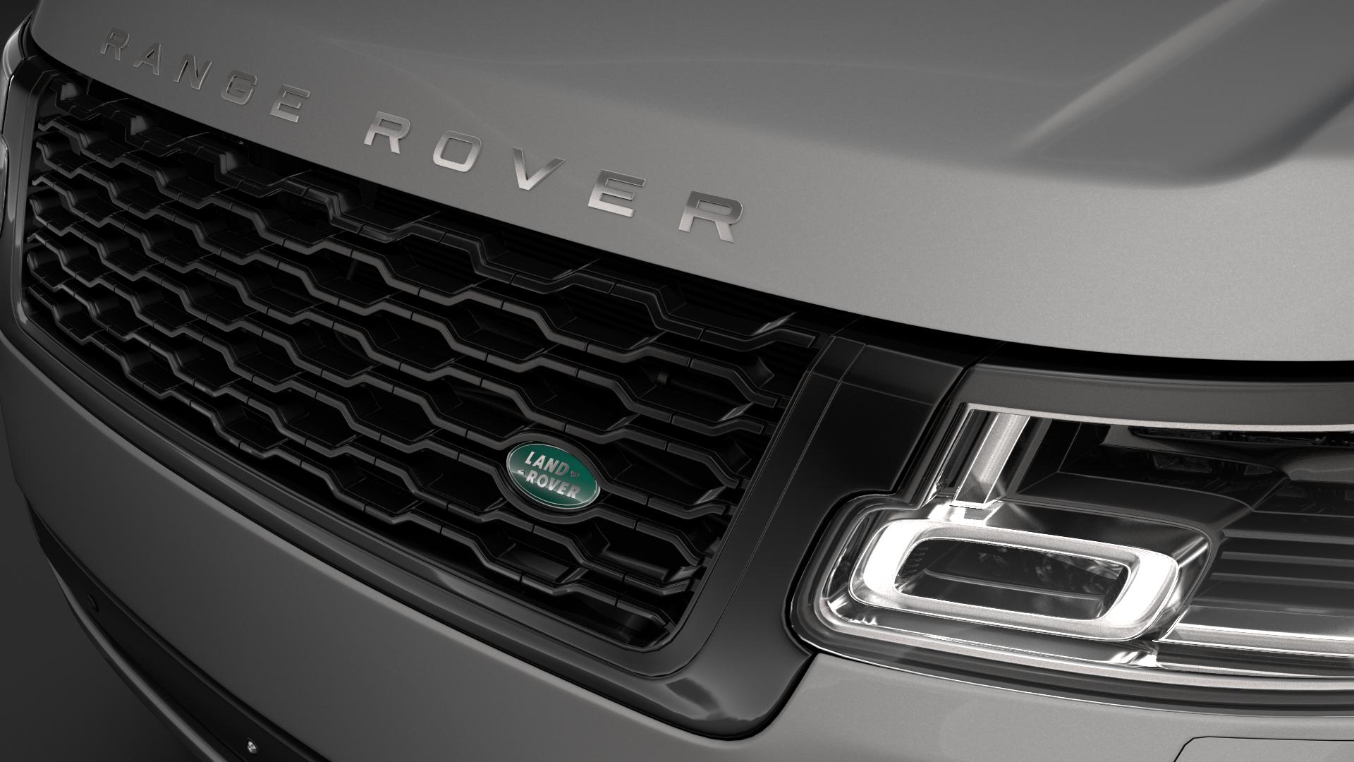 range rover vogue lwb l405 2018 3d model max fbx c4d lwo ma mb hrc xsi obj 277526
