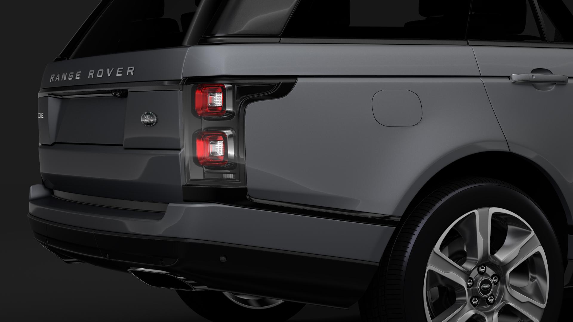 range rover vogue lwb l405 2018 3d model max fbx c4d lwo ma mb hrc xsi obj 277527
