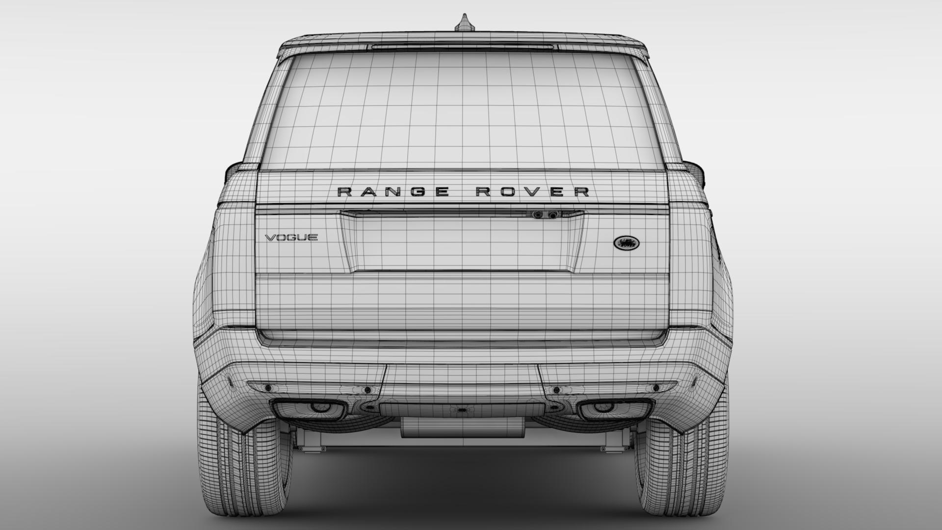 range rover vogue lwb l405 2018 3d model max fbx c4d lwo ma mb hrc xsi obj 277539