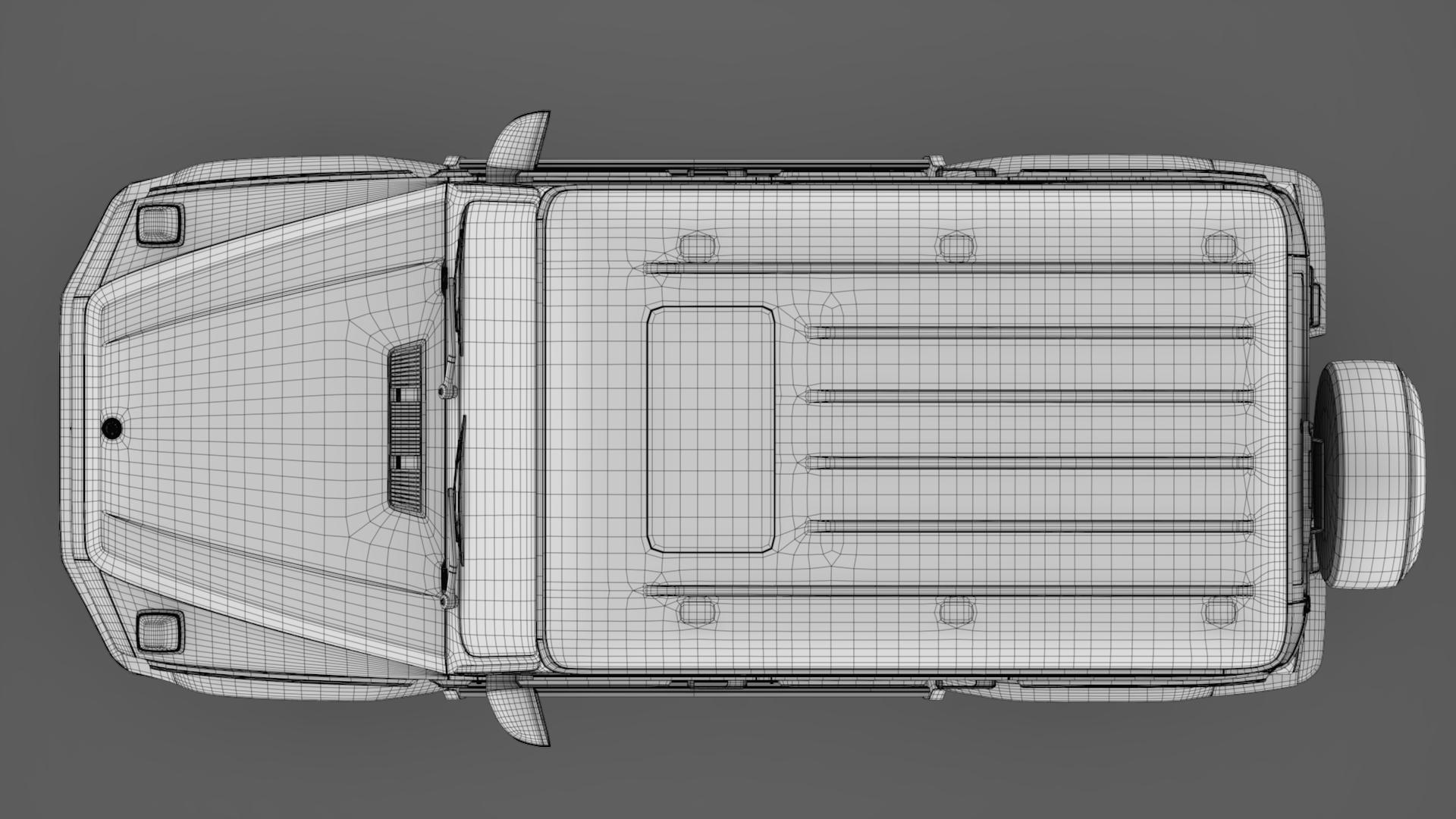 mercedes-benz g 500 (w464) 2018 3d model max fbx c4d lwo ma mb hrc xsi obj 277646