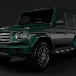 Mercedes-Benz G 550 (W464) 2018 3d model high poly max fbx c4d lwo lws lw ma mb  obj