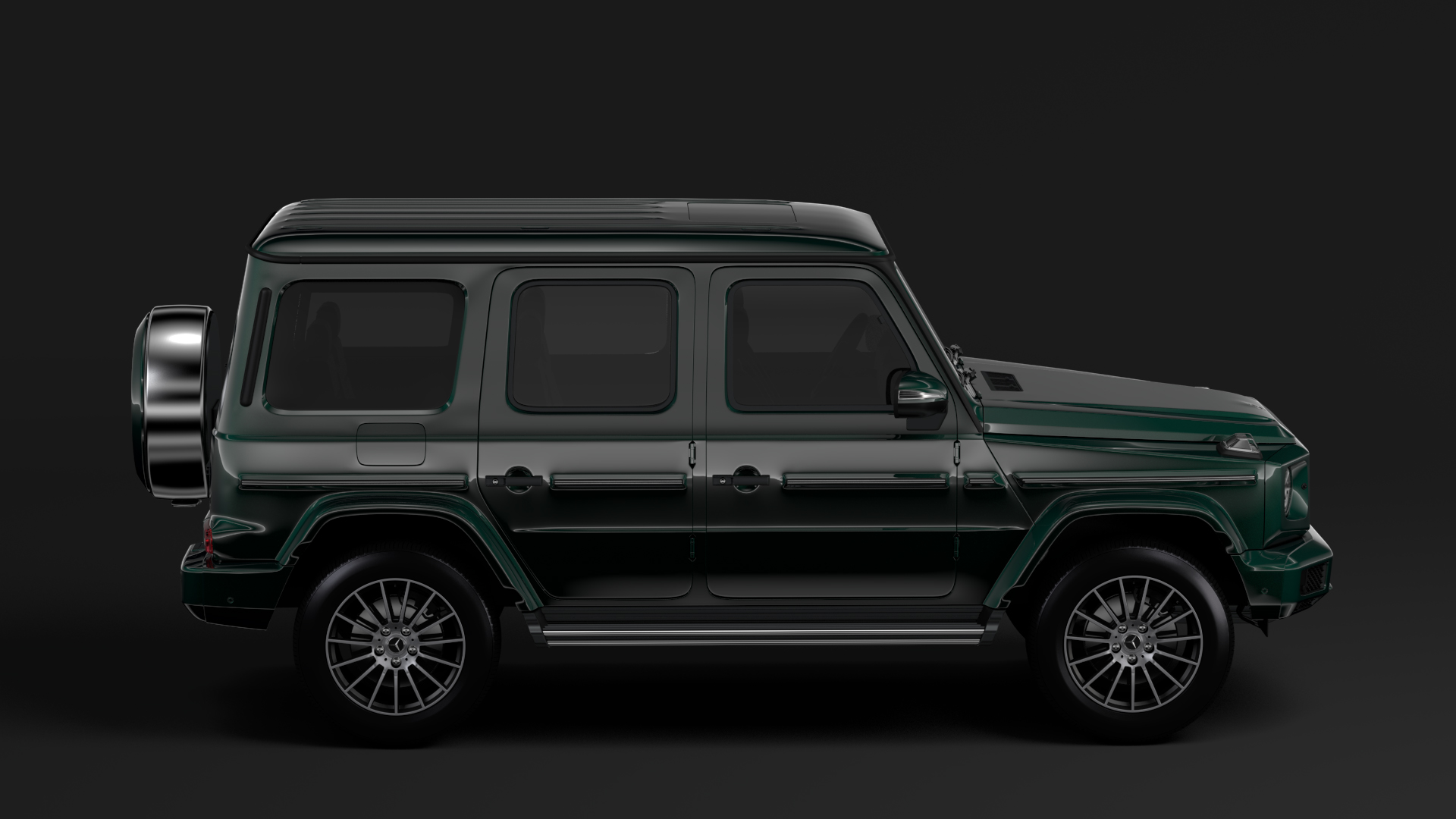 mercedes-benz g 550 (w464) 2018 3d model max fbx c4d lwo ma mb hrc xsi obj 277666