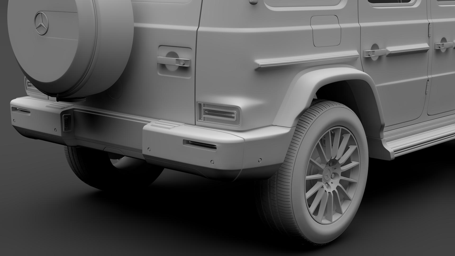 mercedes-benz g 550 (w464) 2018 3d model max fbx c4d lwo ma mb hrc xsi obj 277671