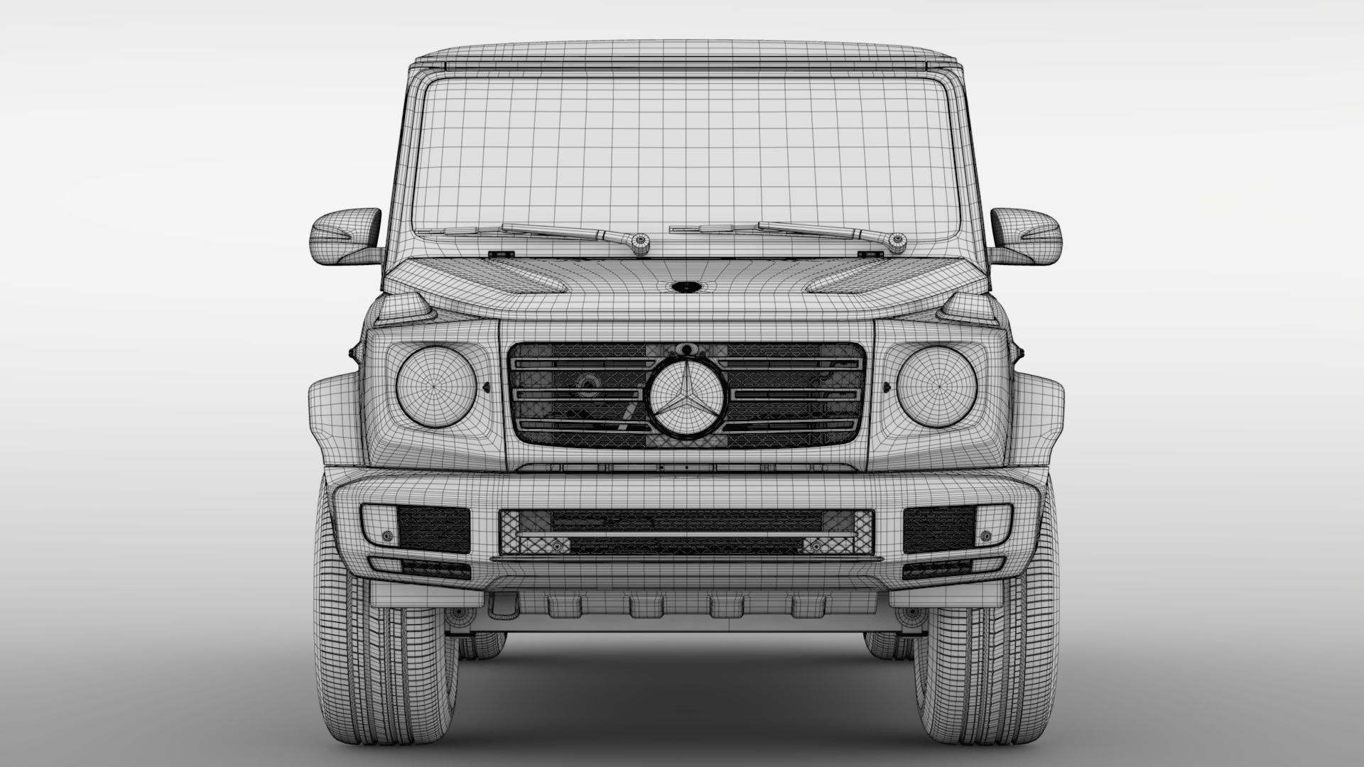 mercedes-benz g 550 (w464) 2018 3d model max fbx c4d lwo ma mb hrc xsi obj 277676