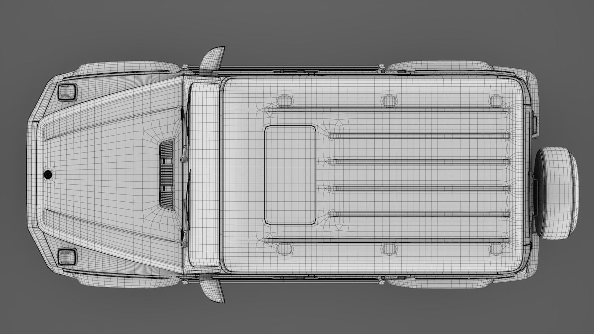 mercedes-benz g 550 (w464) 2018 3d model max fbx c4d lwo ma mb hrc xsi obj 277679