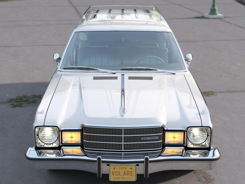plymouth volare wagon 1976 3d model 3ds max fbx c4d obj 277769