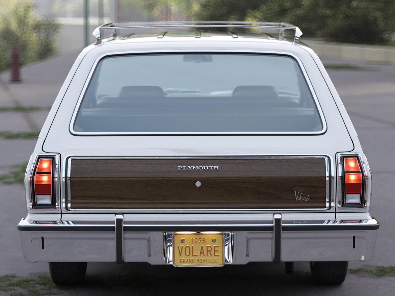 plymouth volare wagon 1976 3d model 3ds max fbx c4d obj 277771