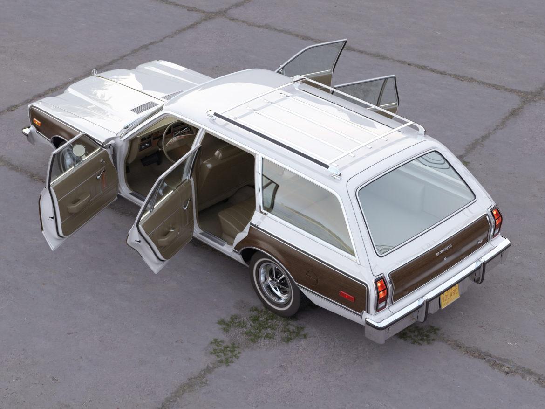 plymouth volare wagon 1976 3d model 3ds max fbx c4d obj 277773