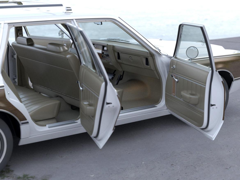 plymouth volare wagon 1976 3d model 3ds max fbx c4d obj 277774