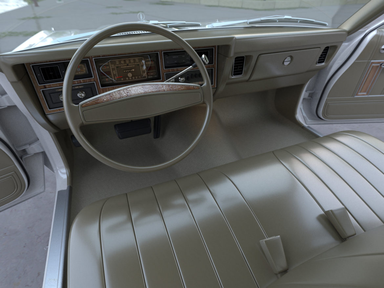 plymouth volare wagon 1976 3d model 3ds max fbx c4d obj 277775