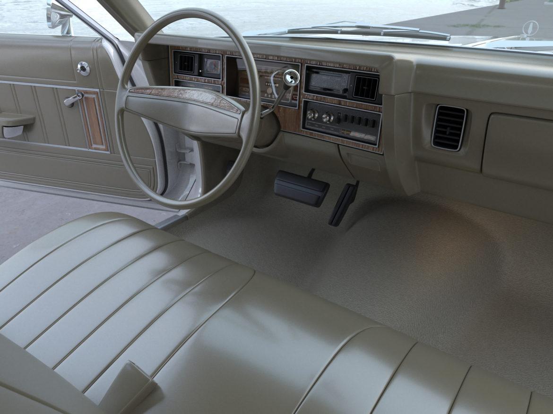 plymouth volare wagon 1976 3d model 3ds max fbx c4d obj 277776