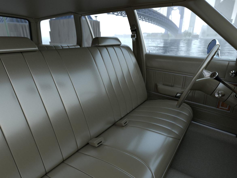 plymouth volare wagon 1976 3d model 3ds max fbx c4d obj 277777
