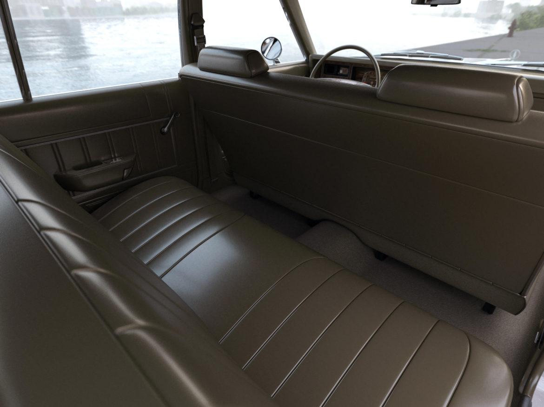 plymouth volare wagon 1976 3d model 3ds max fbx c4d obj 277778