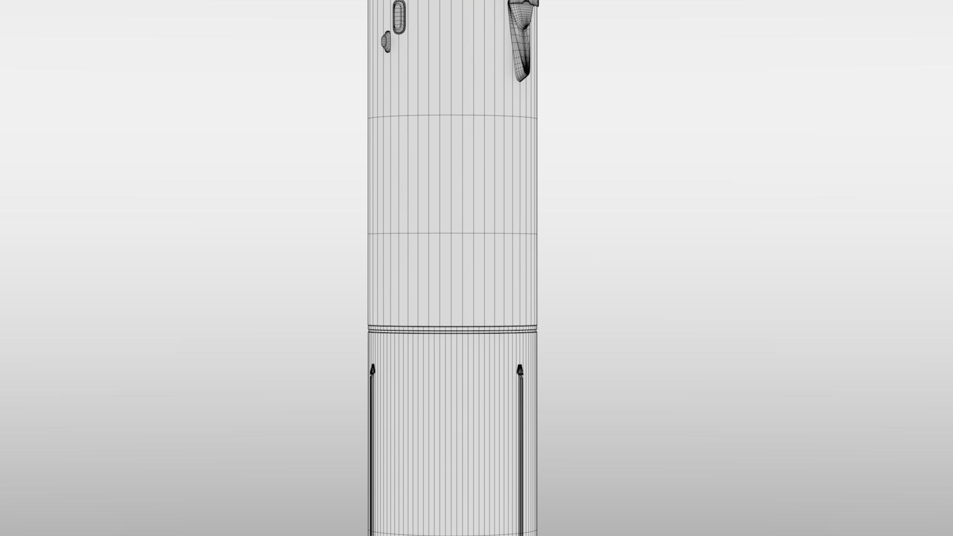 falcon 9 v1.2 non reusable 3d model max fbx c4d lwo ma mb hrc xsi obj 277800
