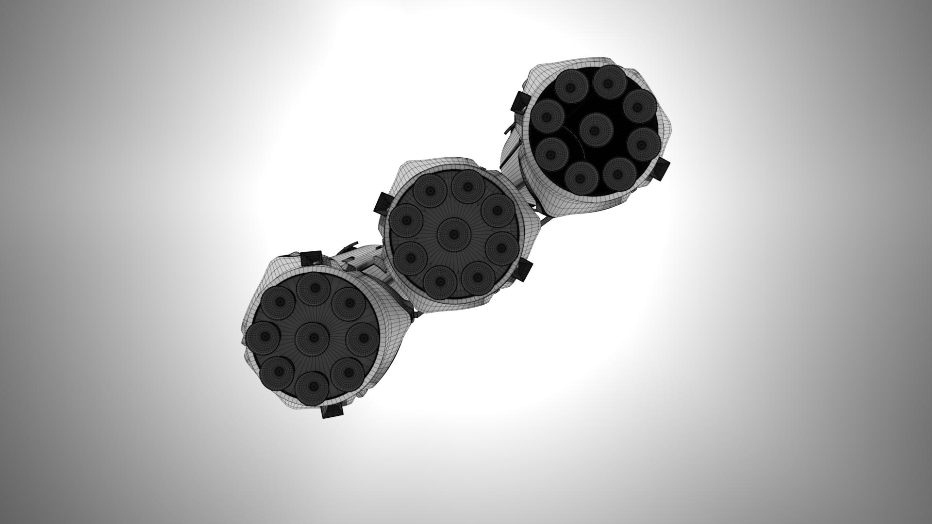 falcon heavy v1.2 fully reusable 3d model max fbx c4d lwo ma mb hrc xsi obj 277871