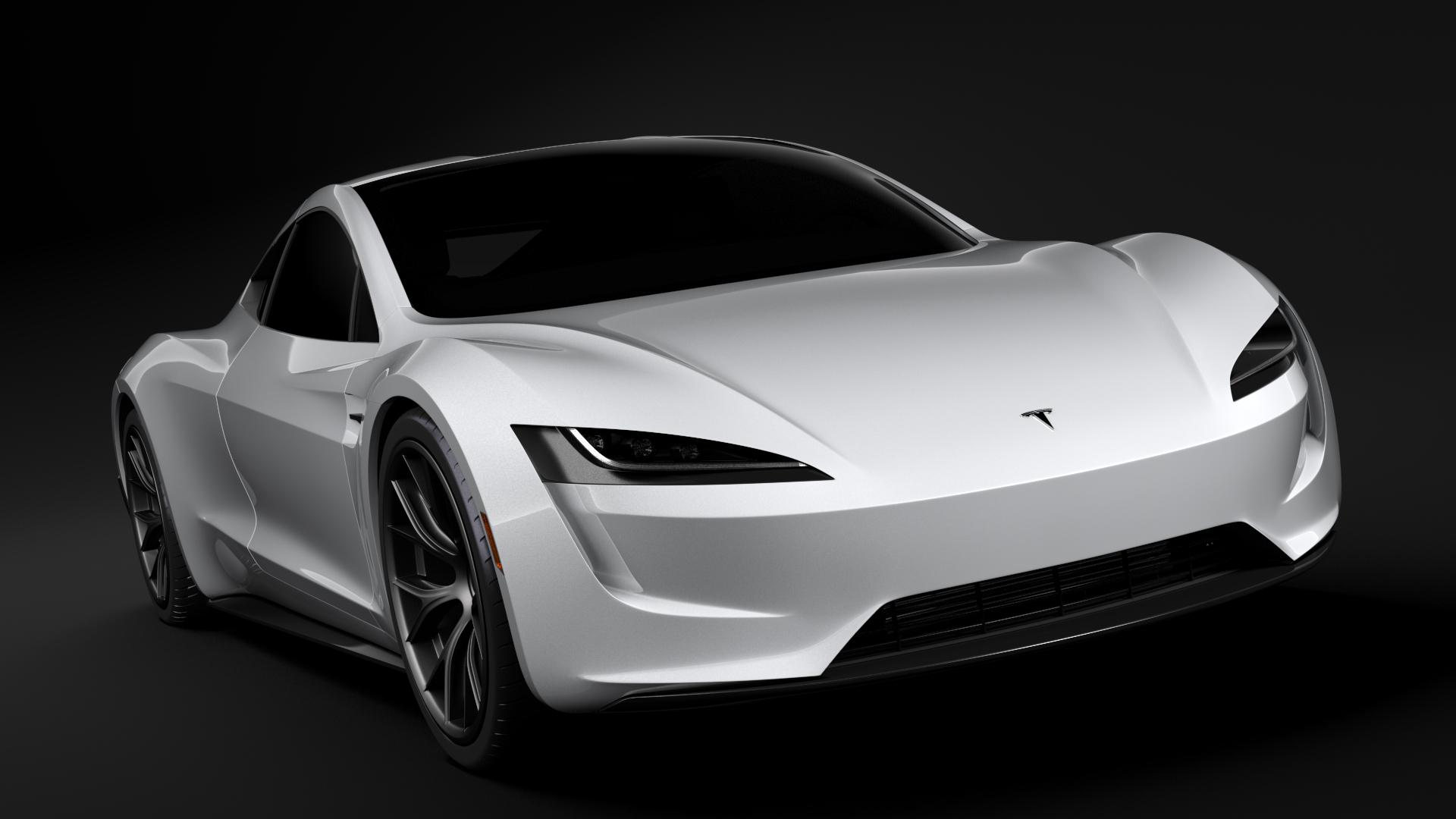 tesla coupe 2020 3d model max fbx c4d lwo ma mb hrc xsi obj 277978