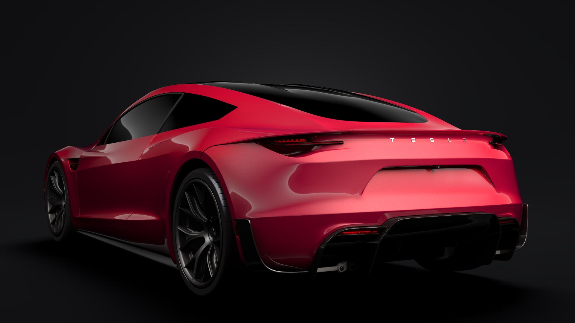 Tesla Roadster 2020 3d Model Flatpyramid