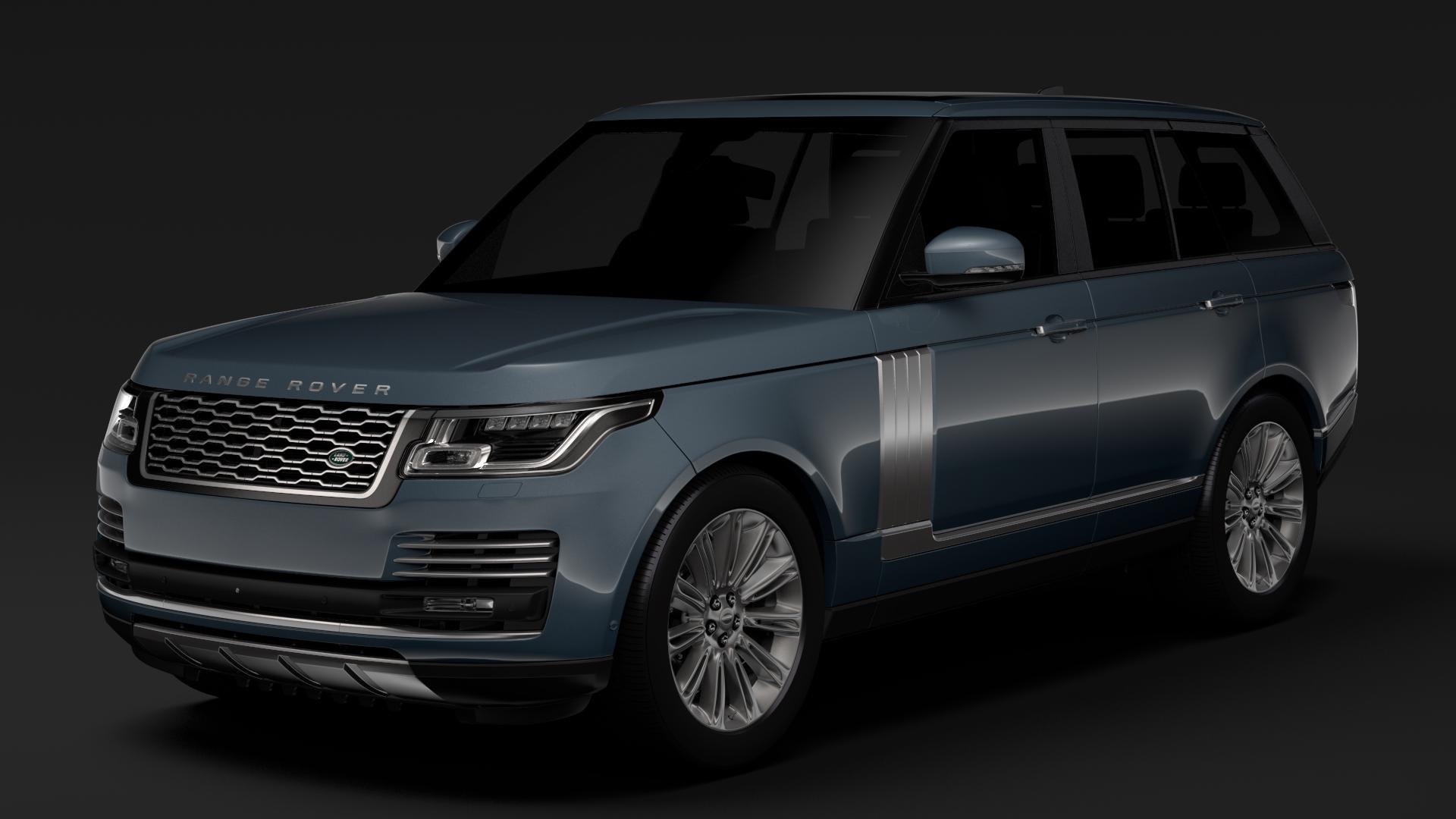 range rover autobiography (l405) 2018 3d model max fbx c4d lwo ma mb hrc xsi obj 278047