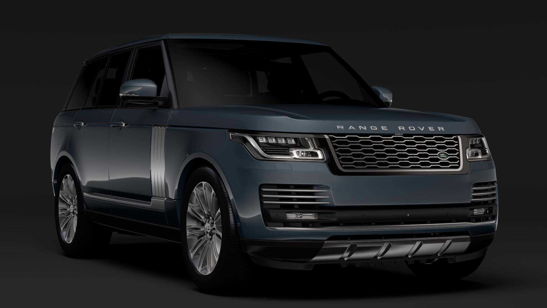 range rover autobiography (l405) 2018 3d model max fbx c4d lwo ma mb hrc xsi obj 278049
