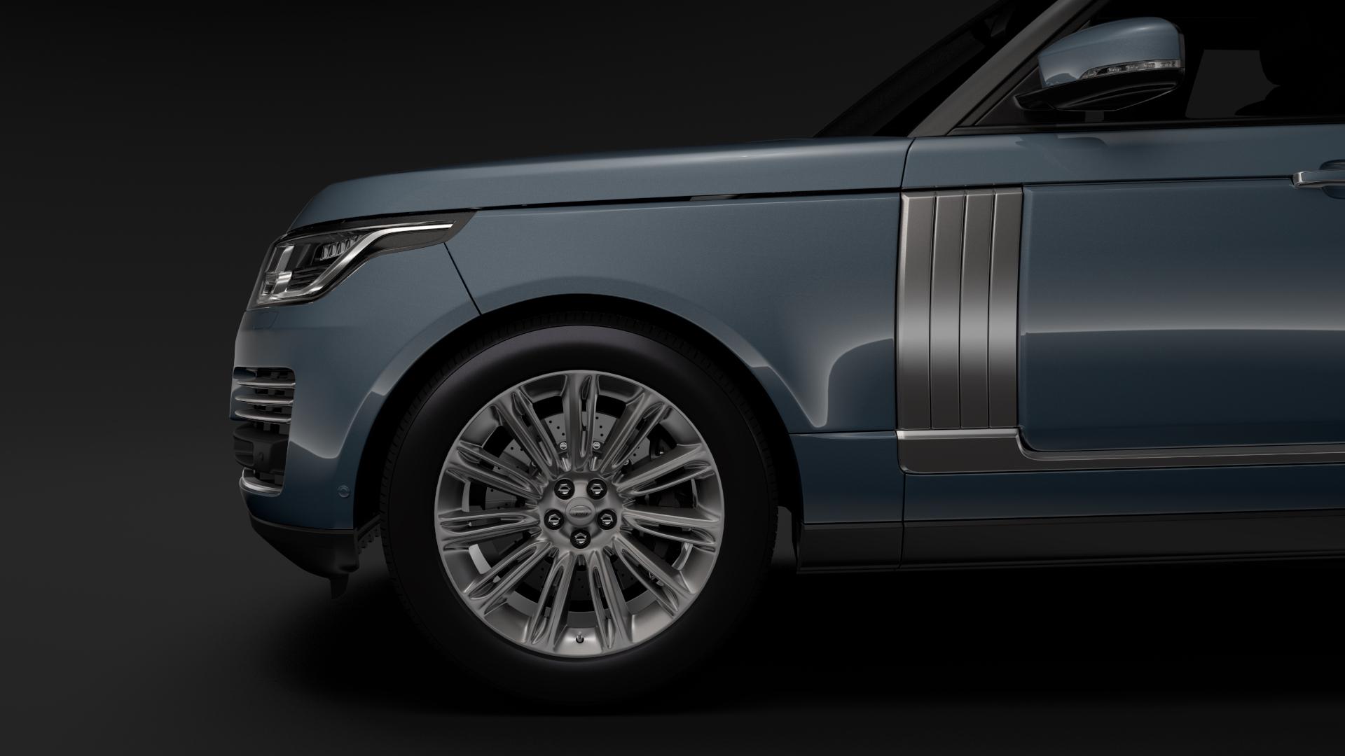 range rover autobiography (l405) 2018 3d model max fbx c4d lwo ma mb hrc xsi obj 278052