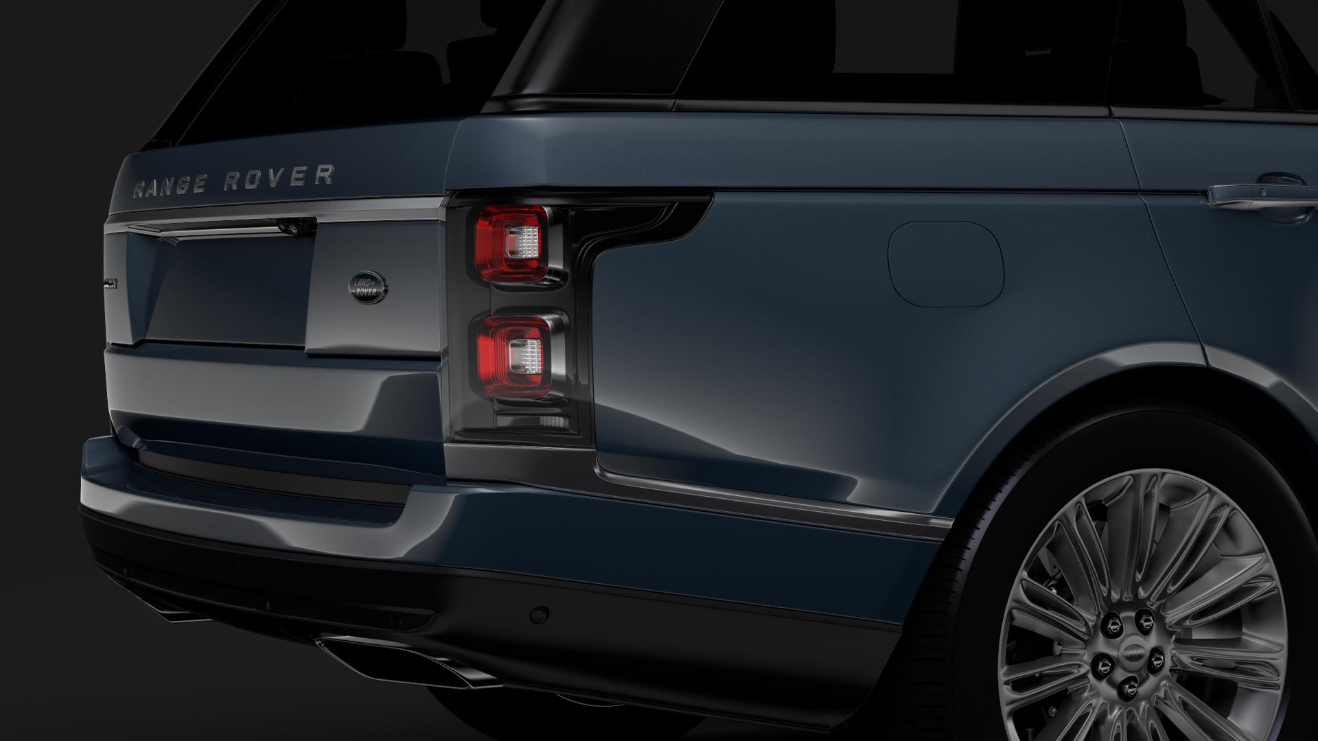 range rover autobiography (l405) 2018 3d model max fbx c4d lwo ma mb hrc xsi obj 278055