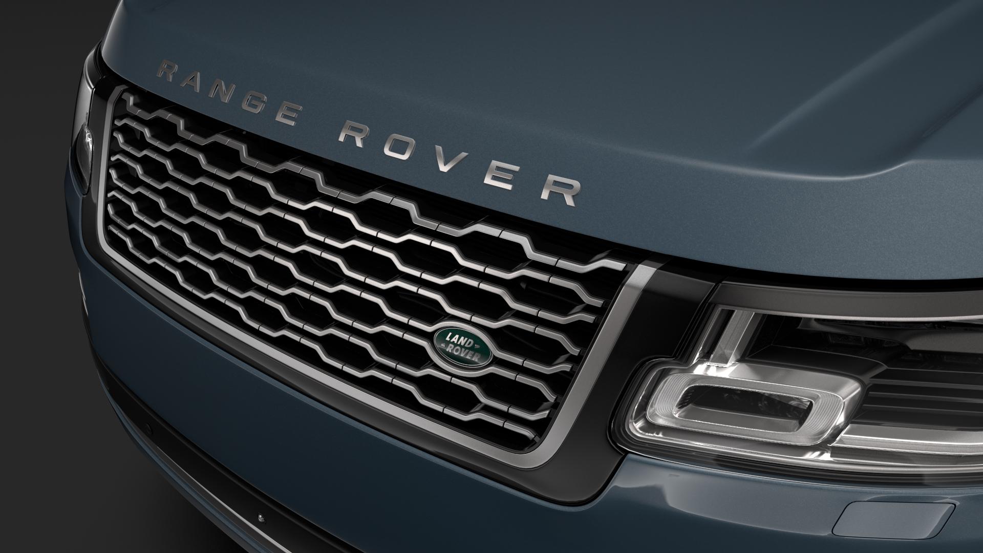 range rover autobiography (l405) 2018 3d model max fbx c4d lwo ma mb hrc xsi obj 278056