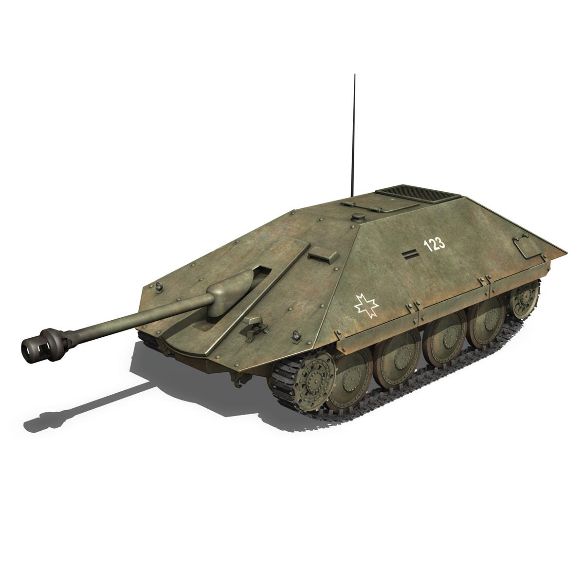 maresal m05 – romanian tank destroyer 3d model 3ds fbx c4d lwo obj 278106