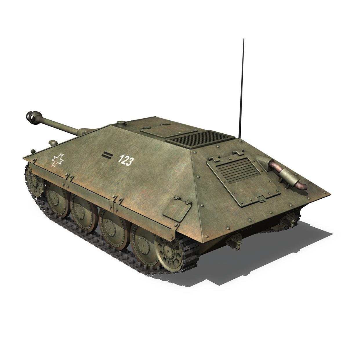 maresal m05 – romanian tank destroyer 3d model 3ds fbx c4d lwo obj 278107