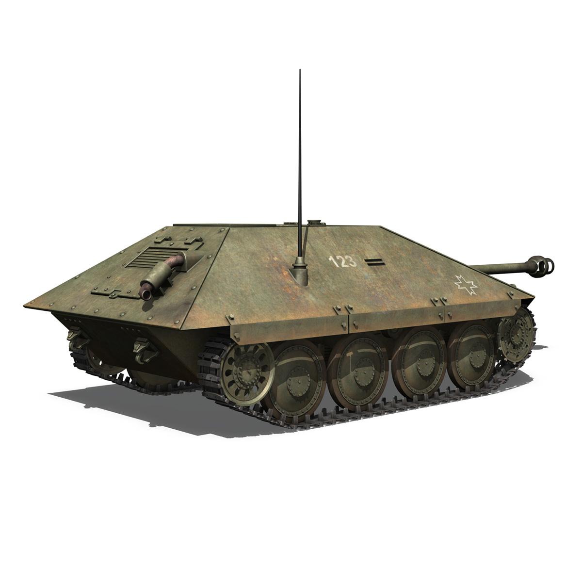 maresal m05 – romanian tank destroyer 3d model 3ds fbx c4d lwo obj 278108