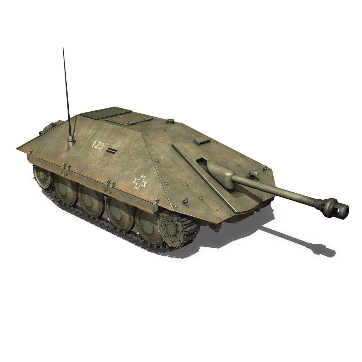 maresal m05 – romanian tank destroyer 3d model 3ds fbx c4d lwo obj 278110
